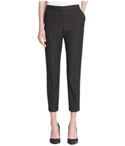 DKNY Womens Windowpane Dress Pants