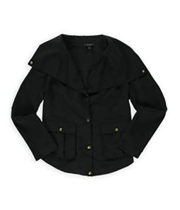 Apt. 9 Womens Pleated Shirt Jacket