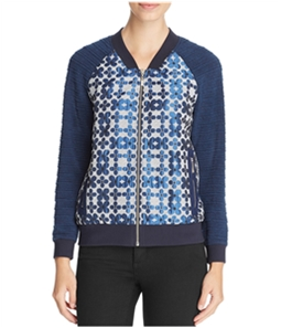 Finity Womens Floral Bomber Jacket
