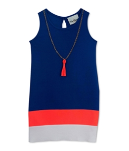 Rare Editions Girls Multicolor Necklace Sundress