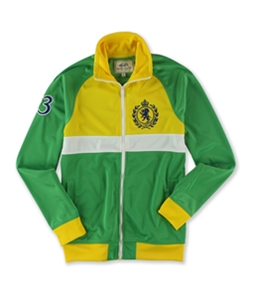 Ecko Unltd. Mens Crown Lion Crest Track Jacket
