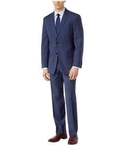 Tommy Hilfiger Mens Check Stretch Formal Tuxedo