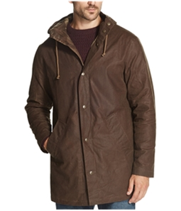 Weatherproof Mens Wax Raincoat
