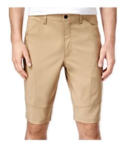 Hawke & Co. Mens Flat-Front Tech Casual Cargo Shorts