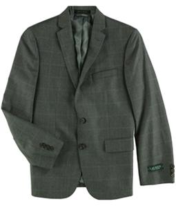 Ralph Lauren Boys Windowpane Two Button Blazer Jacket