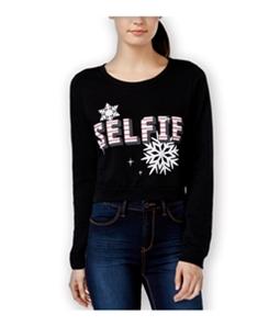 Pretty Rebellious Clothing Womens Xmas Selfie Sweatshirt