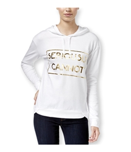 Pretty Rebellious Clothing Womens Seriously Cannot Hoodie Sweatshirt