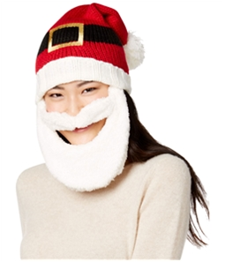 Hooked Up by IOT Womens Bearded Santa Beanie Hat