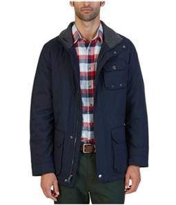 Nautica Mens Multi-Pocket Parka Coat