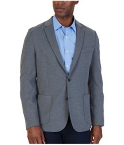 Nautica Mens Soft-Shoulder Two Button Blazer Jacket