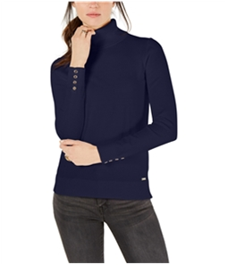 Tommy Hilfiger Womens Button Trim Pullover Sweater