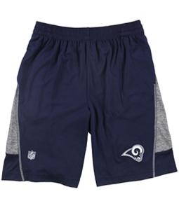 NFL Team Apparel Boys LA Rams Athletic Walking Shorts