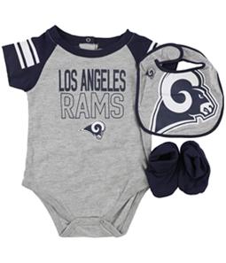 NFL Team Apparel Boys Bib and Booties 3-Piece Bodysuit