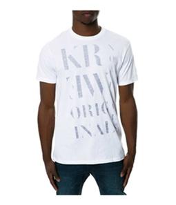 KR3W Mens The Serif Graphic T-Shirt