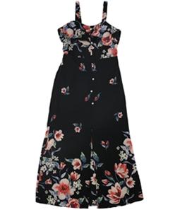 Monteau Girls Floral Maxi Dress