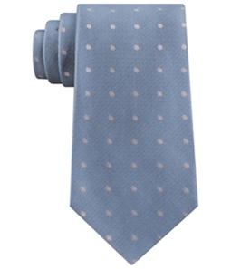 Calvin Klein Mens New Reflection Dot Self-tied Necktie