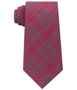 Calvin Klein Mens Plaid Self-tied Necktie