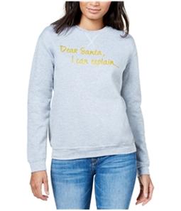 Kid Dangerous Womens Dear Santa Sweatshirt