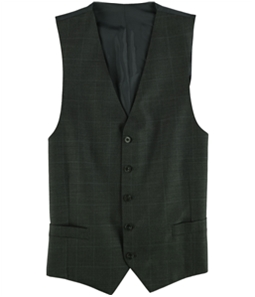 Michael Kors Mens Classic Fit Five Button Vest