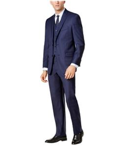 Michael Kors Mens Tonal Plaid Two Button Blazer Jacket