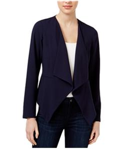 Kensie Womens Date Night Waterfall Blazer Jacket