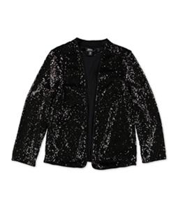 Kensie Womens Sequins Bolero Jacket