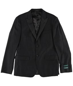 Ralph Lauren Mens Classic-Fit Black Paisley Two Button Blazer Jacket
