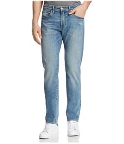 S.M.N Studio Mens Distressed Slim Fit Jeans