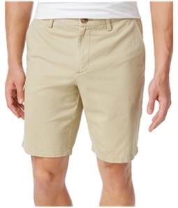 Club Room Mens Cotton Casual Chino Shorts