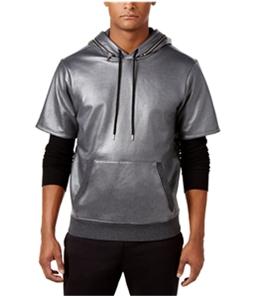 GUESS Mens Logan Thermal Hoodie Sweatshirt