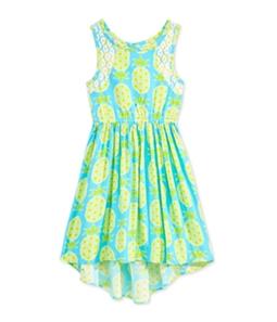 Bonnie Jean Girls Pineapple Tank Dress