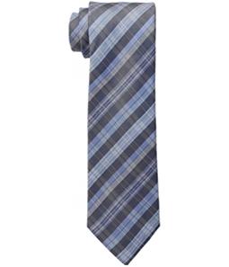 Kenneth Cole Mens Jacob Plaid Self-tied Necktie