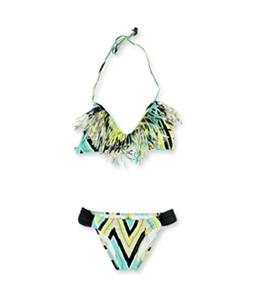 Raisins Womens Kara Fringe 2 Piece Bikini
