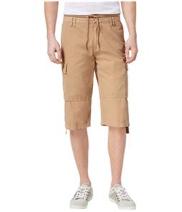 GUESS Mens Drawstring Casual Cargo Shorts