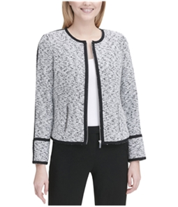 Calvin Klein Womens Piped Jacket