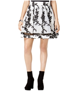 Mare Mare Womens Embroidered Flared Skirt