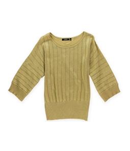 Elementz Womens Metallic Pullover Sweater