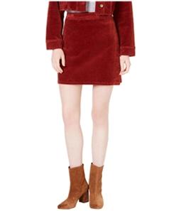 T.D.C. Womens Corduroy Wrap Skirt