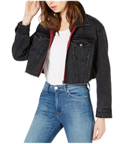 T.D.C. Womens Cropped Jean Jacket