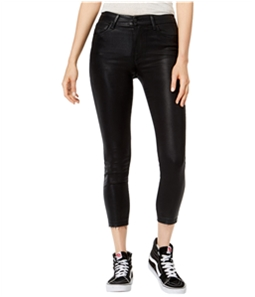 Joes Womens Coated Skinny Fit Jeans