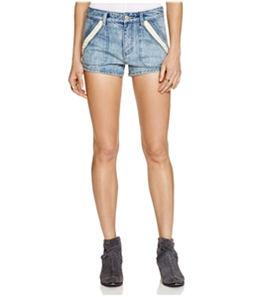 Free People Womens Sweet Surrender Casual Denim Shorts