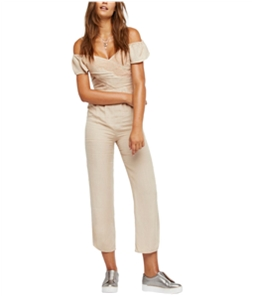 Free People Womens In The Moment Jumpsuit