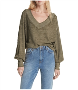 Free People Womens South Side Thermal Sweater