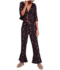 Free People Womens El Paso Pajama Sleep Set
