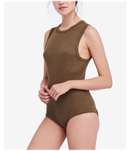 Free People Womens All The Time Bodysuit Jumpsuit