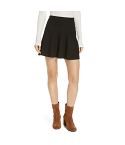 Free People Womens Ruffle A Line Mini Skirt