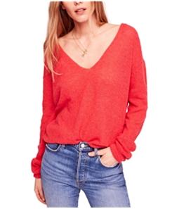 Free People Womens Gossamer Pullover Sweater