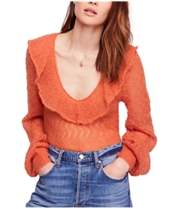 Free People Womens Macaroon Pullover Sweater