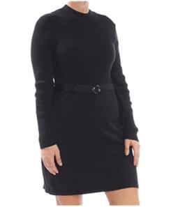 Free People Womens French Girl Sweater Mini Dress