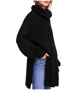 Free People Womens Eleven Turtleneck Knit Sweater